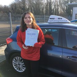 Eva Passed 2nd Time.