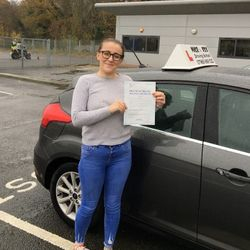 Georgie Passed 1st Time.