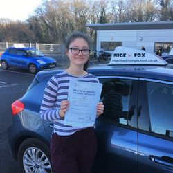 Greta Passed 1st Time.