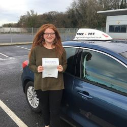 Jenna Passed 1st Time.