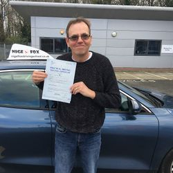 John Passed 1st Time.