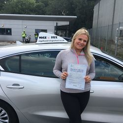 Katie Passed 1st Time.