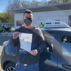 Kriss Passed 1st Time.
