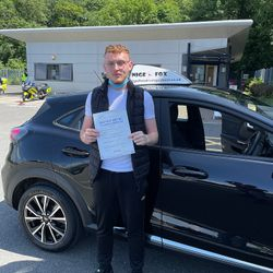 Kyle Passed 1st Time.
