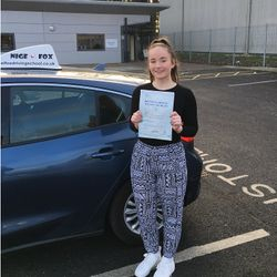 Leah Passed 3rd Time.