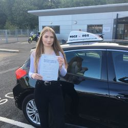 Leonie Passed 2nd Time.