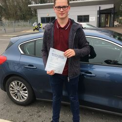 Matthew Passed 1st Time.