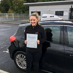 Megan Passed 2nd Time.