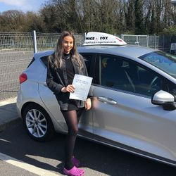 Nicole Passed 1st Time.