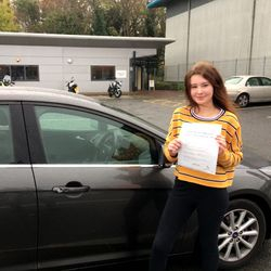 Siobhan Passed 1st Time.