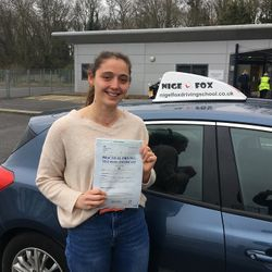 Tierney Passed 1st Time.