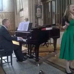 Recital, St Paul's, Harrow on the Hill, July 2016. Pianist: Neil Crossland