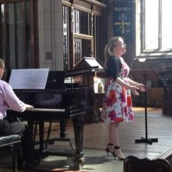 Recital, St Paul's Harrow on the Hill, August 2016. Pianist: Mark WIlson