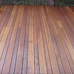 Repair to Merbau Deck and Stain