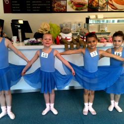 Primary Ballet Ballet Exam 20/10/13 :: Bethan, Katy, Tara and Amy