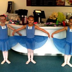 Grade One Ballet Ballet Exam 20/10/13 :: Lily, Lucy and Charlotte