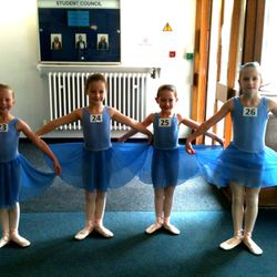 Grade One Ballet Exam 20/10/13 :: Lilia, Maggie, Ruby and Emily
