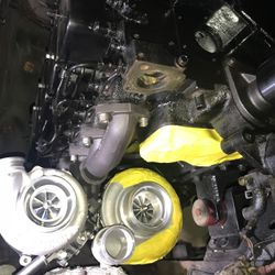 Compound Turbos in a 2002 F350 12 Valve Cummins Swap