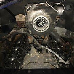 Heads Off an LLY Duramax for Studs and Gaskets