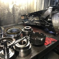 Transmission Tear Down on a 4R100 7.3L Tranmission
