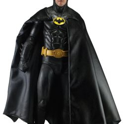 NECA 18 Inch 1/4 Scale Tim Burton Movie Batman Michael Keaton Action Figure