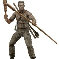 NECA 18 Inch 1/4 Scale Predators Movie Muddy Camoflage Dutch Action Figure