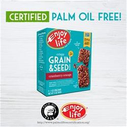 certified palm oil free for the rainforests