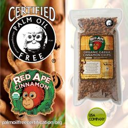 certified palm oil free for cinnamon