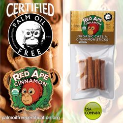 certified palm oil free for cassia