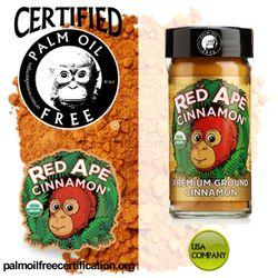 certified palm oil free for shopping