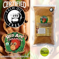 certified palm oil free for climate change