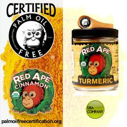 certified palm oil free for palm oil free products
