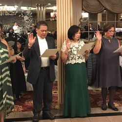 PAMET-USA, Inc. NEW JERSEY CHAPTER INDUCTION OF OFFICERS.