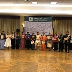 PAMET-USA Southern California Chapter 30th Founding and Induction of Officers, March 2, 2019