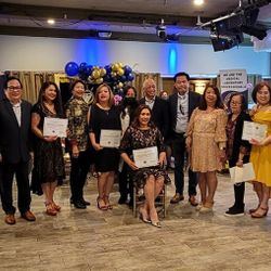 Induction of 2021 Northern California Chapter Officers, led by newly elected President, Ms. Gina Sicat-Crain.