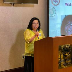 Welcome Address by Ms. Grace Dian, on behalf of Ms. Vicky Umayam (outgoing Georgia Chapter President).