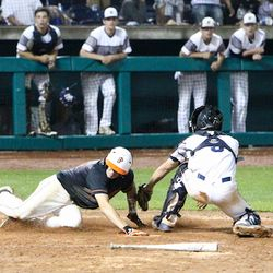 Justin Massielo scores the winning run in State Championship!