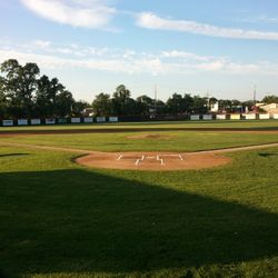 Varsity Field equipped with 30 infield sprinklers