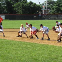 Infield during Summer Camp 2013