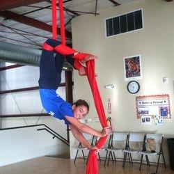 Aerial Silks at Performance Athletics
