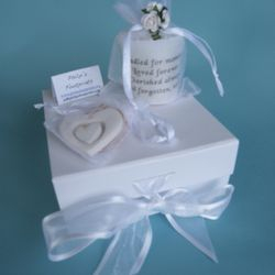 A small box, matching the memory box, to keep precious items in.