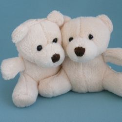 Two identical teddies, one to stay with the baby and one for the parents to keep.