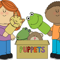 Puppet shows are really fun!