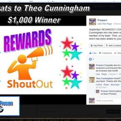 Theo won $1,000 cash