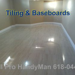 Tiling and refinishing
