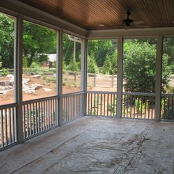 Pet Screen Removable Screened Porch Panels Youngsville