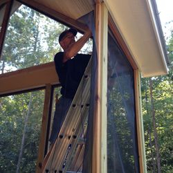 Removable Screened Porch Panels