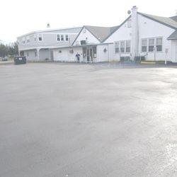 Rear Parking Area
