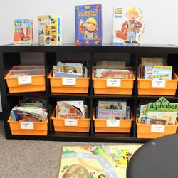 CLASSROOM LIBRARIES - EACH CLASSROOM HAS A LEVELED BOOK LIBRARY CONSISTING OF APPROXIMATELY 800 GRADE LEVEL APPROPRIATE BOOKS. OUR SCHOLARS READ!!!