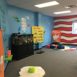 DR. SEUSS ROOM- ONE FISH - TWO FISH - RED FISH - BLUE FISH, LET'S LEARN ABOUT ALL OF THE VOCABULARY AND SCIENCE THAT IS INVOLVED IN AN AQUATIC ENVIRONMENT.